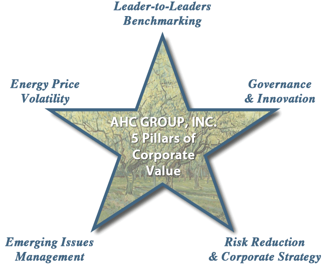 5 pointed star: AHC Group core strengths