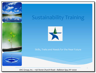 Sustainability Training Slide Presentation