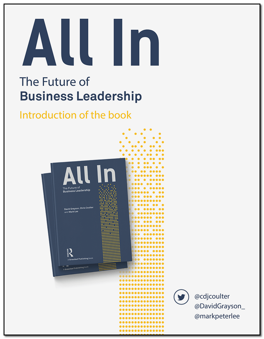 Introduction to All In by Chris Coulter