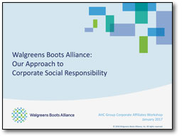 Walgreens Boots Alliance Presentation