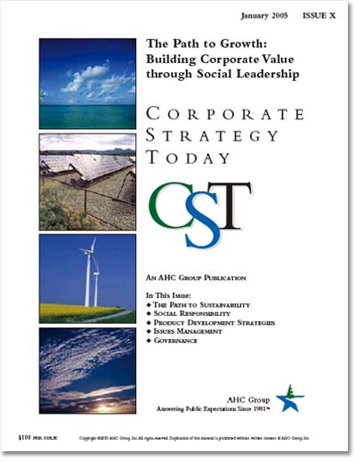 Corporate Strategy Today: Issue 10