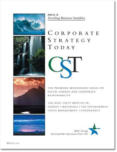 Corporate Strategy Today: Issue 2