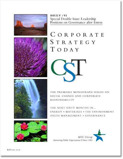 Corporate Strategy Today: Issue 5-6