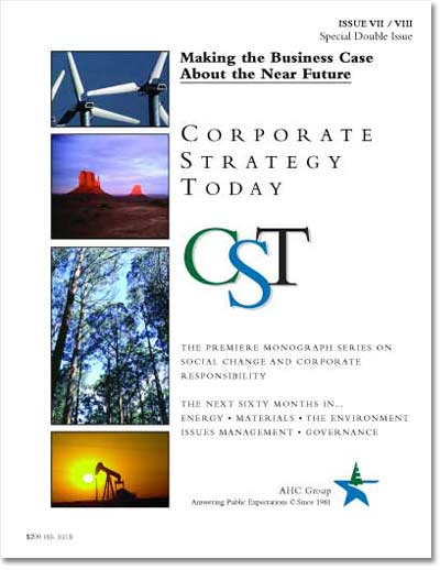 Corporate Strategy Today: Issue 7-8