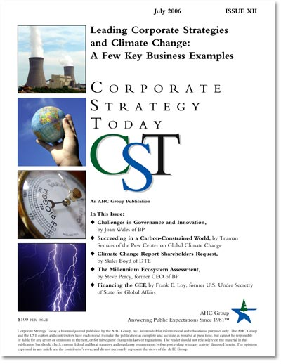 Corporate Strategy Today: Issue 12