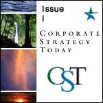 View: Corporate Strategy Today: Issue 1