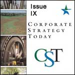 View: Corporate Strategy Today: Issue 9